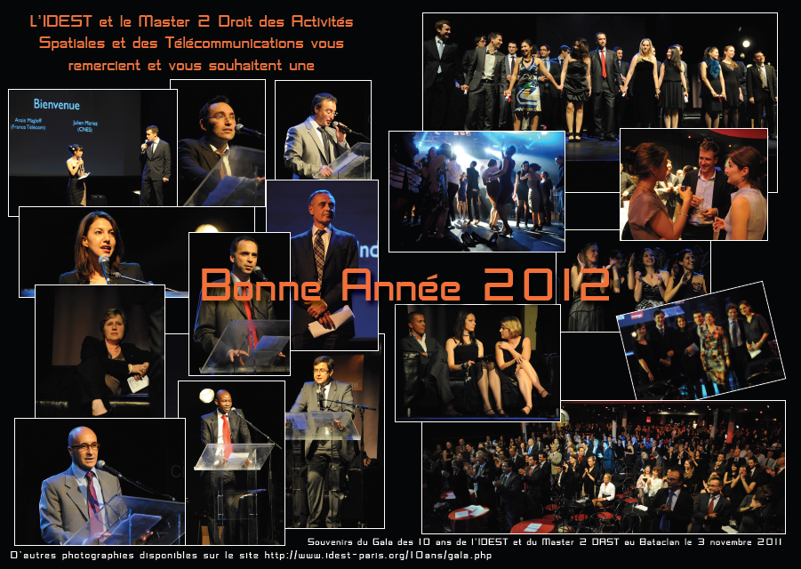 Bonne annee 2012 - IDEST